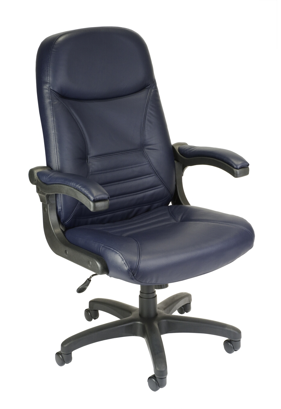 Pleasing Ofm Model 550 L Mobilearm Leather Executive Office Chair Dailytribune Chair Design For Home Dailytribuneorg