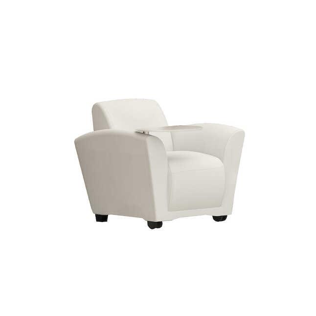 Fantastic Safco Santa Cruz Mobile Lounge Chair With Tablet Total Ibusinesslaw Wood Chair Design Ideas Ibusinesslaworg